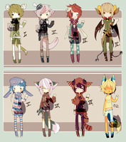 [CLOSED//adopts] 16 by poisonous-mush