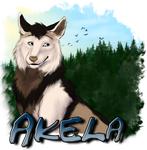 Akela Medallion by AhikuWolf