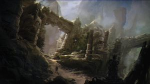 Ruined Temple by Rukkits