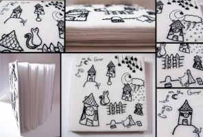 crazy house sketchbook by PinkPixieDragon
