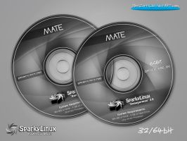 SparkyLinux 3.0 Annagerman MATE-Labels by MiroZarta
