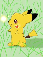 Cute Pikachu by Ludichat