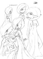 Lovely Gardevoir by zmorphcom