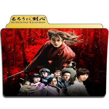 Rurouni Kenshin First Movie Folder Icon by Je-Vi