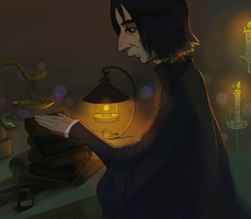 Snape petting books by Kvasii