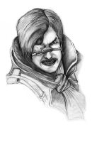 Risen2 Dark Waters Hero lead pencil by ArthusokD