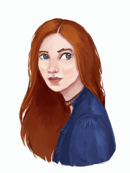 One more selfportrait by LittleLittleMuy