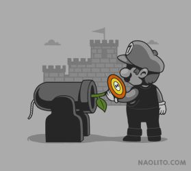 Pacifist Plumber by Naolito
