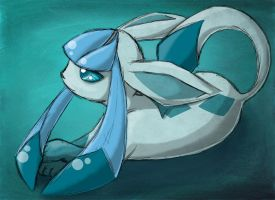 Glaceon by PetiteLaSouris