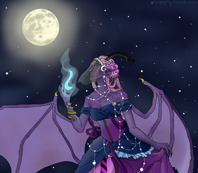 Lady of the Night by Sammi-The-FF-Freak