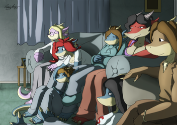 Film Night - Pawz Entry by Morgoth883