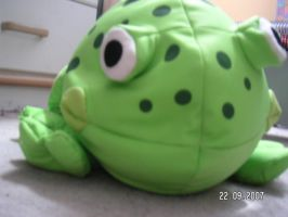 Plushie Frog by Beautelle-stock