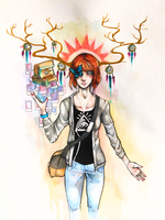 Max Caulfield~LIFE IS STRANGE by BlackRose1102020