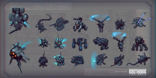 Earthrise Concepts 2 by Mattinian