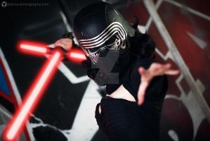 Kylo Ren by lady-narven