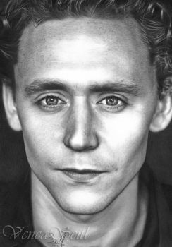 Tom Hiddleston by VencaSeitl