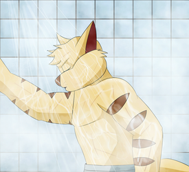 Chance In the shower by coDDRy