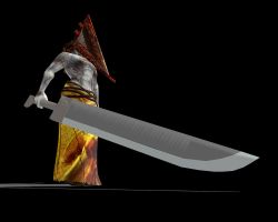 Pyramid Head's Great Knife -DL- by charry-PitifulFool