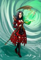 GuildWars 2 Character by MarisaArtist