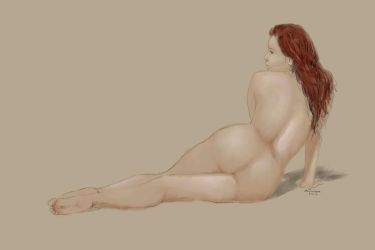Simple Nude by mdjackson