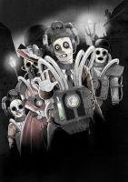 Cybermen by Gaslight by DarkJimbo