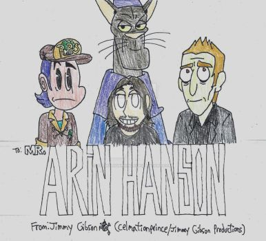 Arin Hanson Tribute by CelmationPrince