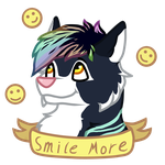 Smile More by Funny-arts
