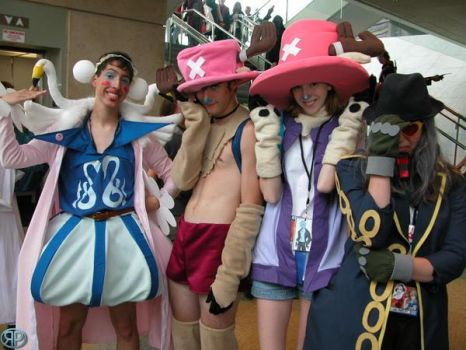 Power group Otakon 05 by hyperdingo
