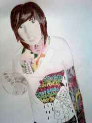 Request: Oli Sykes Draw by Dead-of-all-emotion
