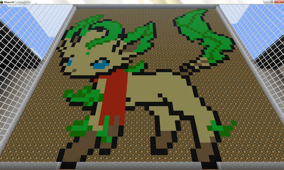Leafeon :updated: by Troythecat2354