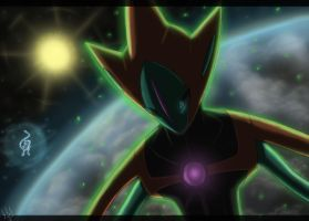 Meeting with Deoxys