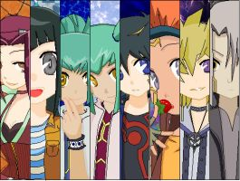 5Ds Profiles by RoseWitchLovesYusei