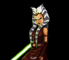 Adult Ahsoka Tano - Ahsoka in the Future by furgy12