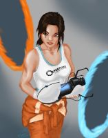 Chell Finished by Tsailanza