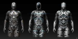 Sci-fi Modo suits by Rofelrolf