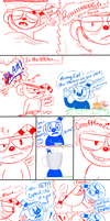 Cuphead and Mugman in: Morning Boys by Sinister-Toaster