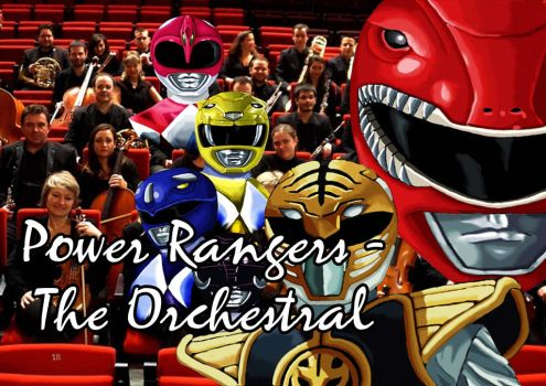 Power Ranger The Orchestral by DeviantNegre