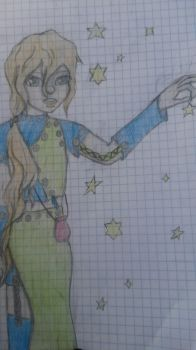 Stella- Muse of the Stars by ninjabookworm13