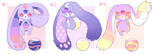 Sympop Night Adoptable Batch #3 CLOSED by Voodoo-Doll-Art