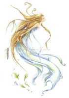 The sylph, spirit of the air by delfee