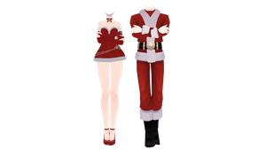 [MMD x New Year gift] Outfits DL by UnluckyCandyFox