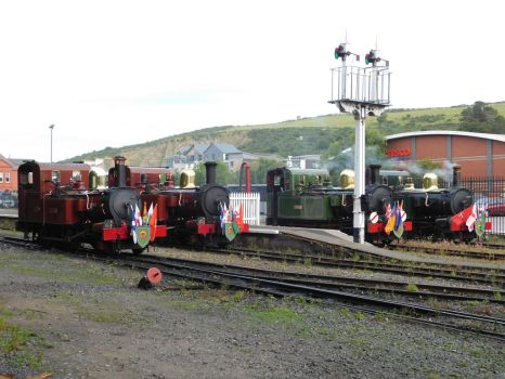 Isle of Man Steam Railway: Engine roll call... by DaveOnTheRails