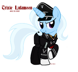Trixie Lulamoon of the SS by ImperialAce