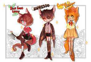 [Adopts] Sweetie-Paws (LOWERED PRICE-1/3 OPEN) by shigay