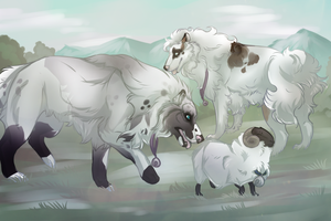 Rite of Merit: Blind Herding by Kieath