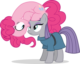 Pinkie and Maud by illumnious