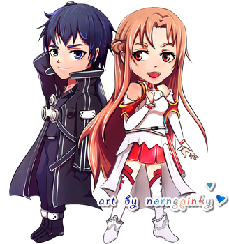 Sword Art Online |Chibi| by NorngPinky