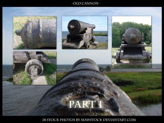 Old Cannon Pack 1 by mawstock