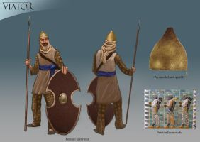 Persian Spearman by RobbieMcSweeney