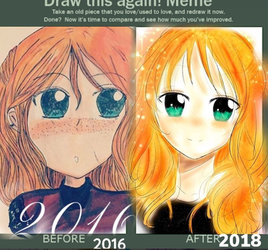 2016 VS 2018 by OnePiece260